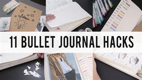 bullet journal hacks 11 bullet journal hacks diy tips ideas ann le