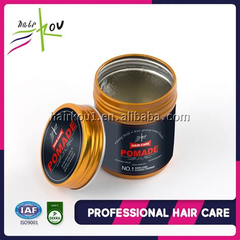 black label hair products china factory wholesale private label black hair clay oem