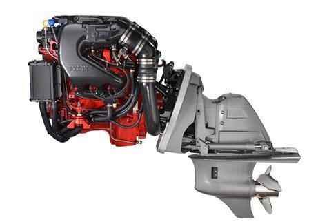 volvo penta debuts  marine engines