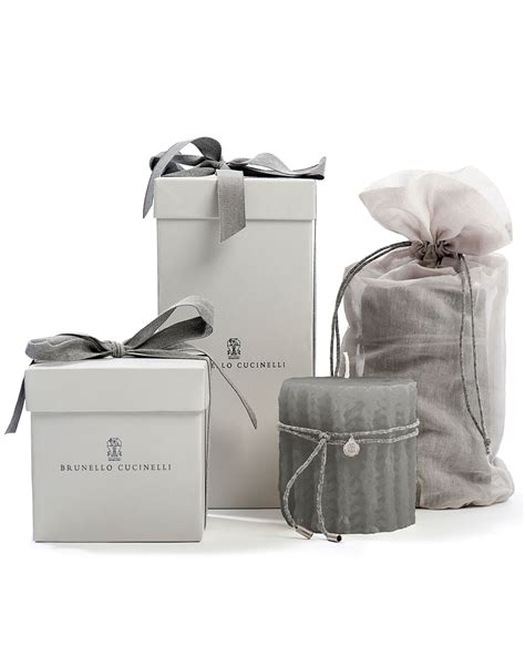 hohe kerzen brunello cucinelli candle giftwrap luxury high end