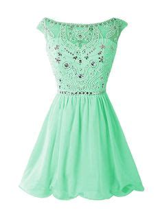 Dress D0097 dresstells chiffon dress homecoming dress mint