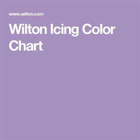 wilton icing color chart best 20 icing color chart ideas on color