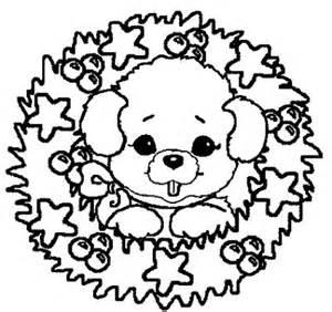 coloriage chien sur coloriage chien fr
