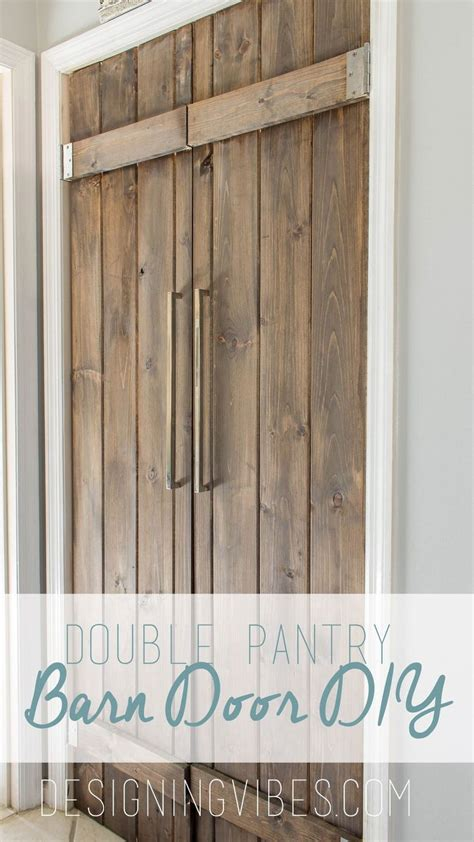 Hometalk Double Pantry Barn Door Diy Under 90 Barn Door For Pantry