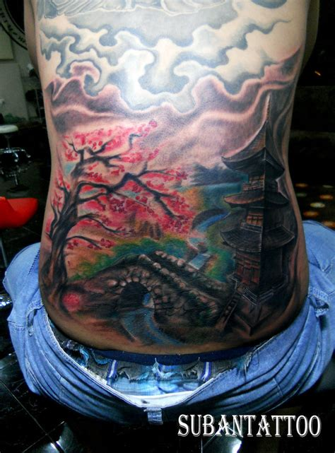 pagoda tattoo designs pagoda by subantattoo on deviantart