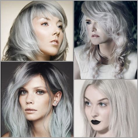 coloring hair gray trend name from our archives inspirational hair color silvery