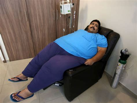 fattest person in the world world s most obese man andres moreno dies of heart