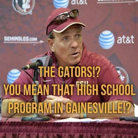 Gator Meme - 102 best images about noles all day on pinterest jamies