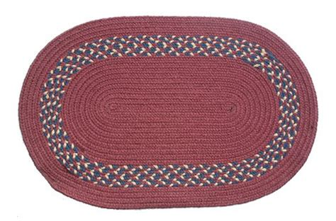 Discount Area Rugs Oval Braided Rug 2 X3 Burgundy Braided Rugs Discount