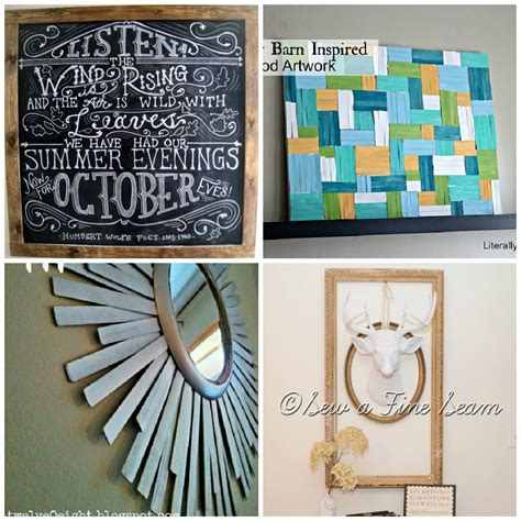 Diy Home Wall Decor Ideas Happy Hour 5 Features Craftberry Bush