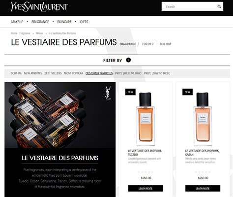 Fab Site Yslcom by Yves Laurent Site