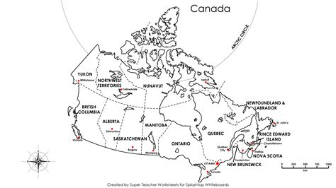 printable maps of canada free printable map canada provinces capitals google