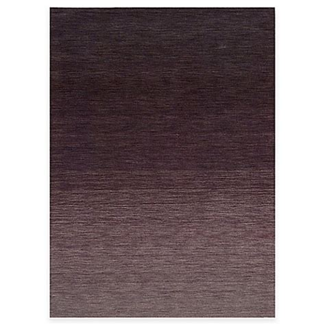Bed Bath Beyond Area Rugs Kenneth Cole Reaction Home Area Rug In Gradient Berry Bed Bath Beyond