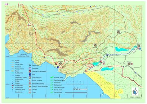 Belcekız Gavurağılı Kumluova Map Section 4 Lycian
