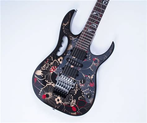 Gitar Ibanez Jem Flower 28 ibanez jem77 fp2 floral pattern 2