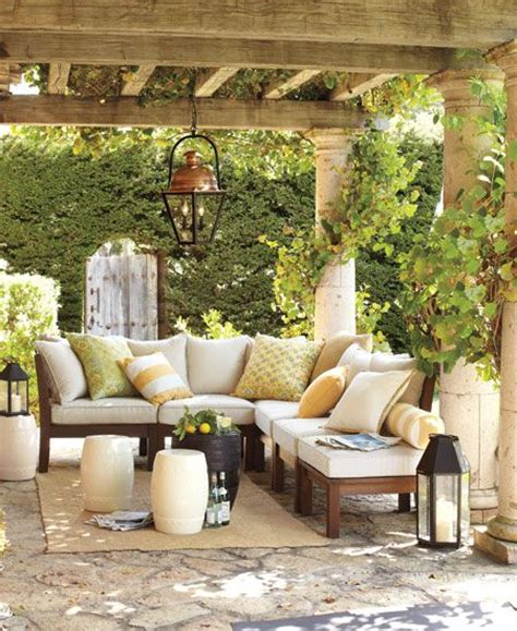 43 patio designs from pottery barn outdoors