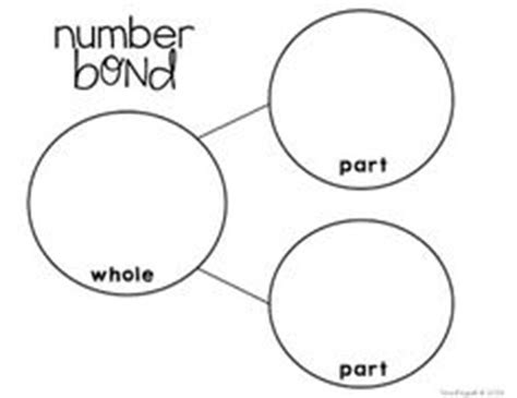 number bond template this template displays 1 large blank number bond it is