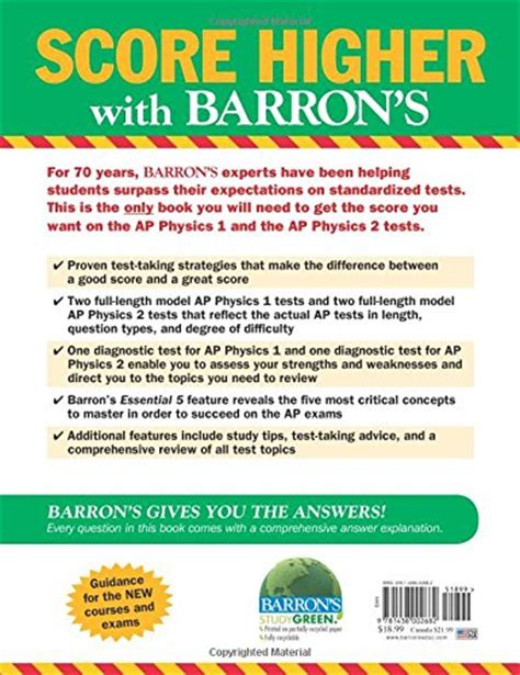 barron s ap physics 1 with bonus tests barron s ap physics 1 and 2 books barron s ap physics 1 and 2 barron s ap physics b