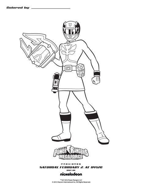 free power rangers megaforce coloring pages get this power rangers megaforce coloring pages free to