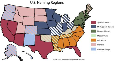 Find In Usa By Name The Geography Of American Baby Names Books