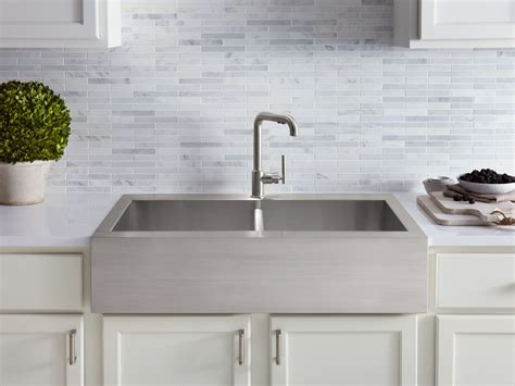white bowl farmhouse sink standard plumbing supply product kohler k 3944 1 na