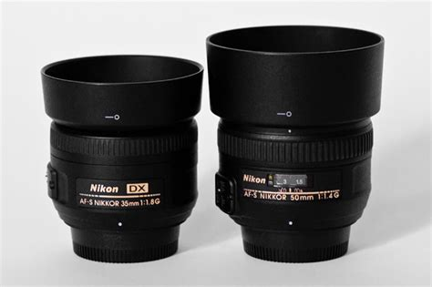 which is better 35mm or 50mm nikon lens nikon 35mm f 1 8g vs 50mm f 1 4g