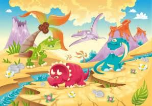 Alphabet Wall Mural childrens wallpapers cartoon dinosaur wall murals