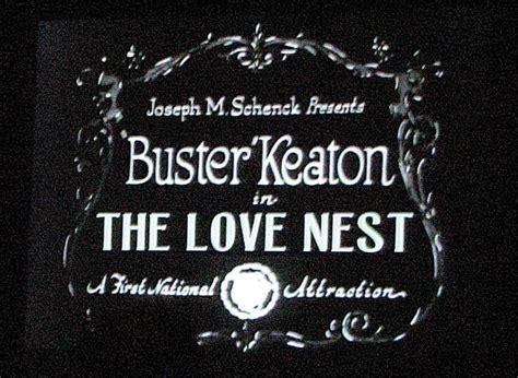 film love nest buster keaton celebration iola kansas