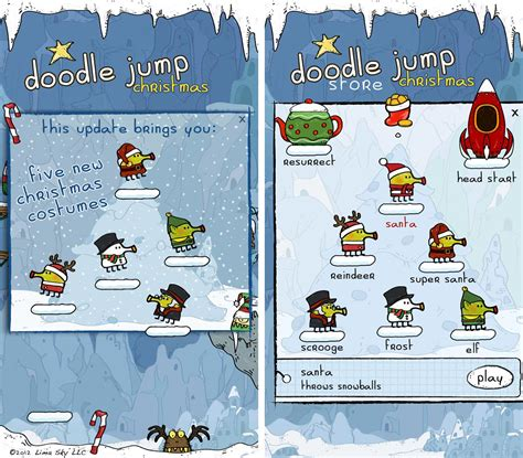 doodle jump coins doodle jump gets in the spirit with 5 new