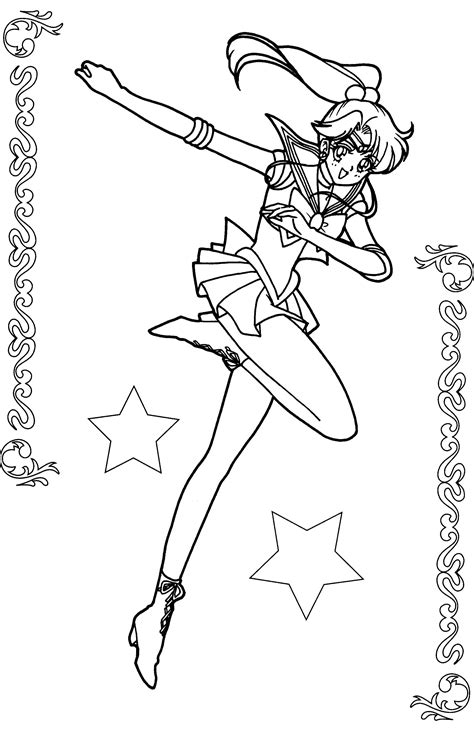 jupiter coloring pages sailor jupiter coloring pages sketch coloring page