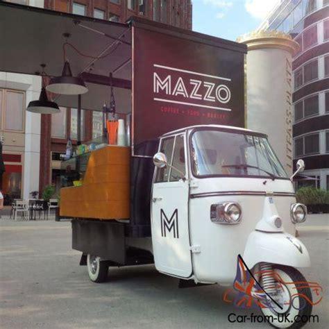 piaggio vespa ape calessino food truck coffee cart
