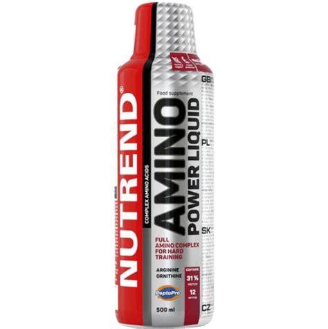 Power Nutrition 500 Ml nutrend amino power liquid liquid bcaa great price on alfafit cz