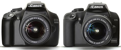 Kamera Canon 1000d Vs 1100d canon eos 1100d vs canon eos 1000d photography tips and tricks equipment photography news