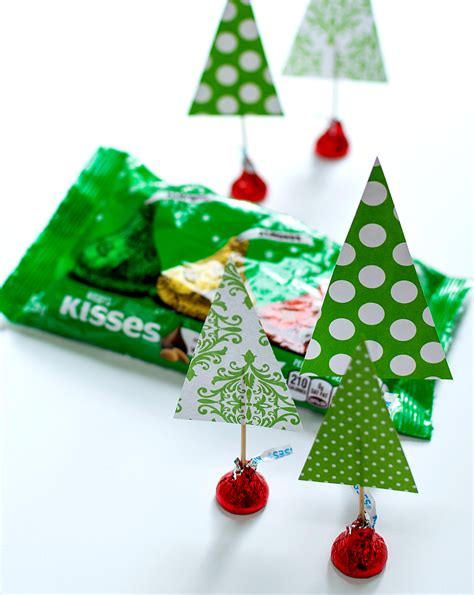 hershey kiss tree craft crafts with