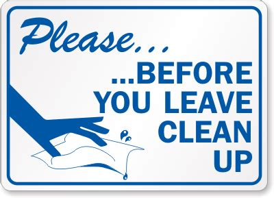 How To Clean Kitchen Cabinets by Keep Clean Signs Keep Kitchen Clean Clip Art Theedlos