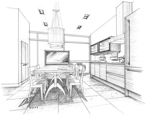 kitchen design sketch kitchen gallery mick ricereto interior product design