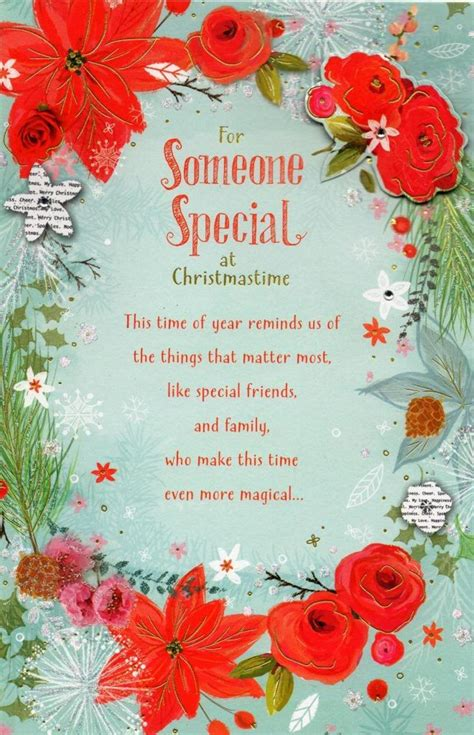 new year poem for someone special someone special traditional greeting card
