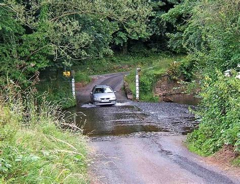 a car crossing the ford on the river rea 169 p l chadwick cc