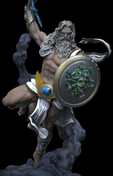 greek statue tattoo best 25 zeus statue ideas on zues statue