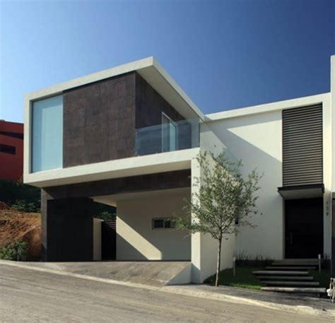 imagenes de casas minimalistas de dos pisos dise 241 os de fachadas de casas minimalistas modernas