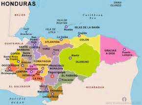 Honduras Map Central America by Summit In Honduras About Us