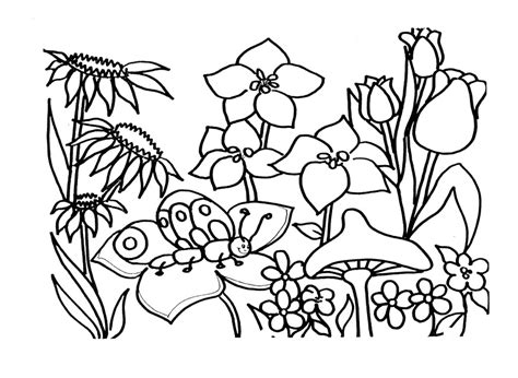 spring coloring pages to print az coloring pages