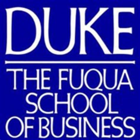 Duke Fuqua School Of Business Mba by Tim Cook
