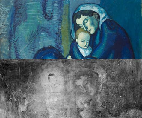 picasso hide paintings second identities hide beneath several masterpieces at the
