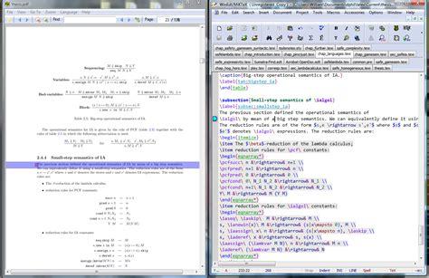 latex tutorial for windows pdf configuring editors with sumatrapdf