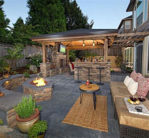 Choosing Elegant Backyard Ideas Pickndecor Com Outdoor Patio Designs
