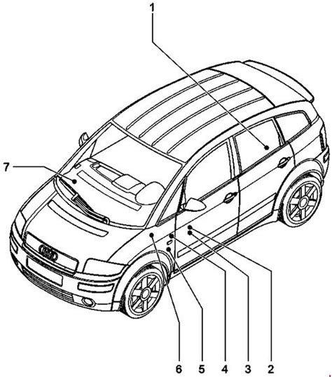 audi a2 central locking wiring diagram wiring diagram