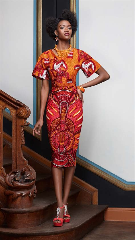 african dress skirt style 2014 african print inspired look by vlisco afrofresh com