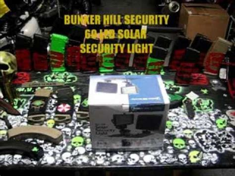 harbor freight light bar harbor freight 36 led solar security light review doovi