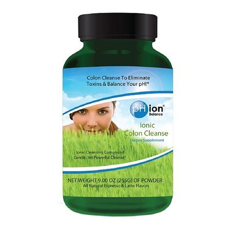Ionic Balancer Detox Review by Phion Balance Ph Balance Ionic Colon Cleanse Powder Jet